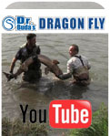 DrBuda's Dragon Fly in action on Selenge River, Mongolia